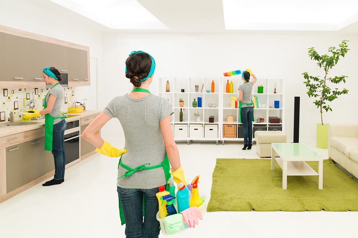 Drawing room cleaning in Dubai