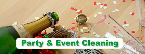 PARTY OR EVENT CLEANING